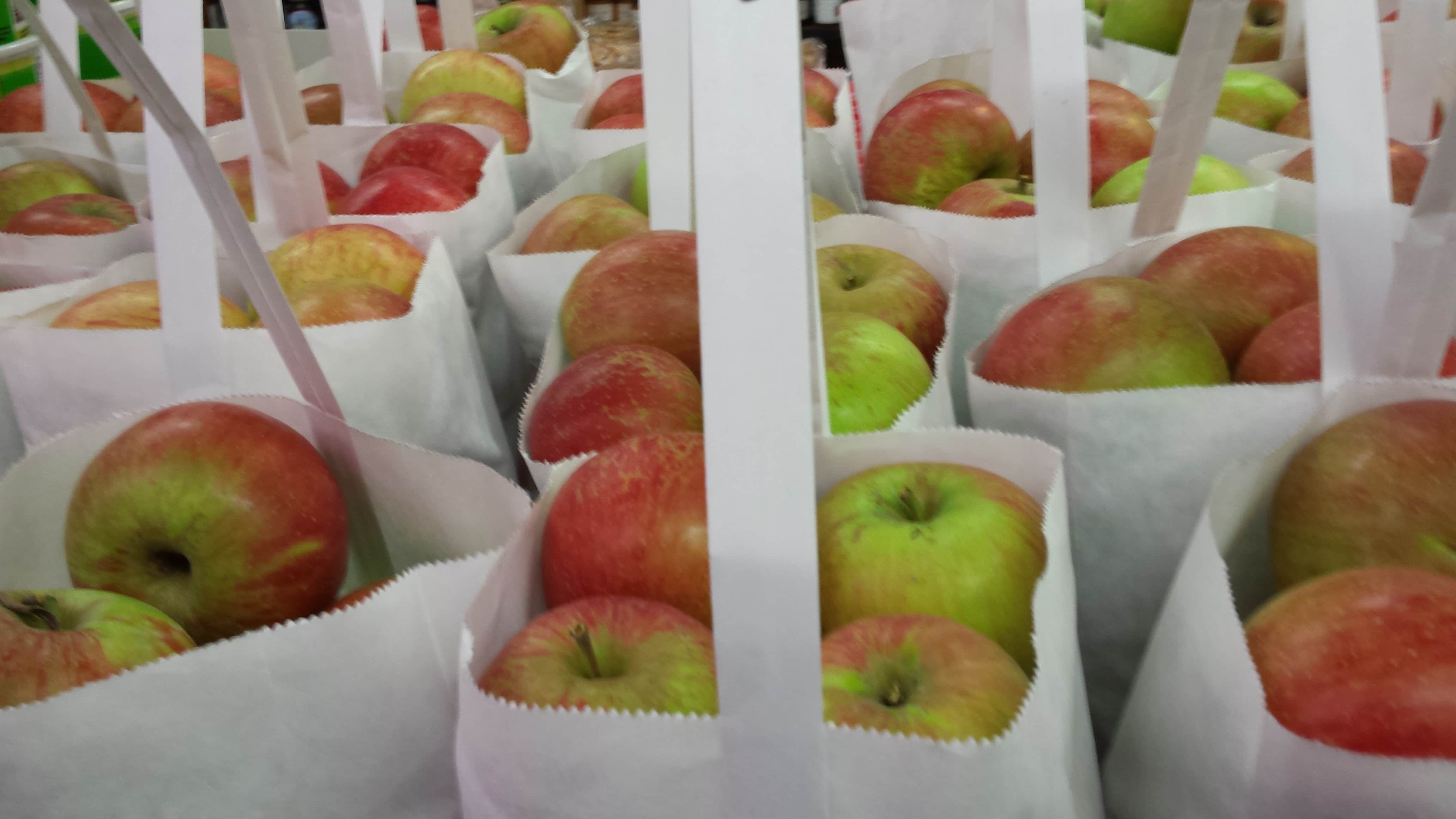 Fresh Apples at Minnesota's Largest Candy Store