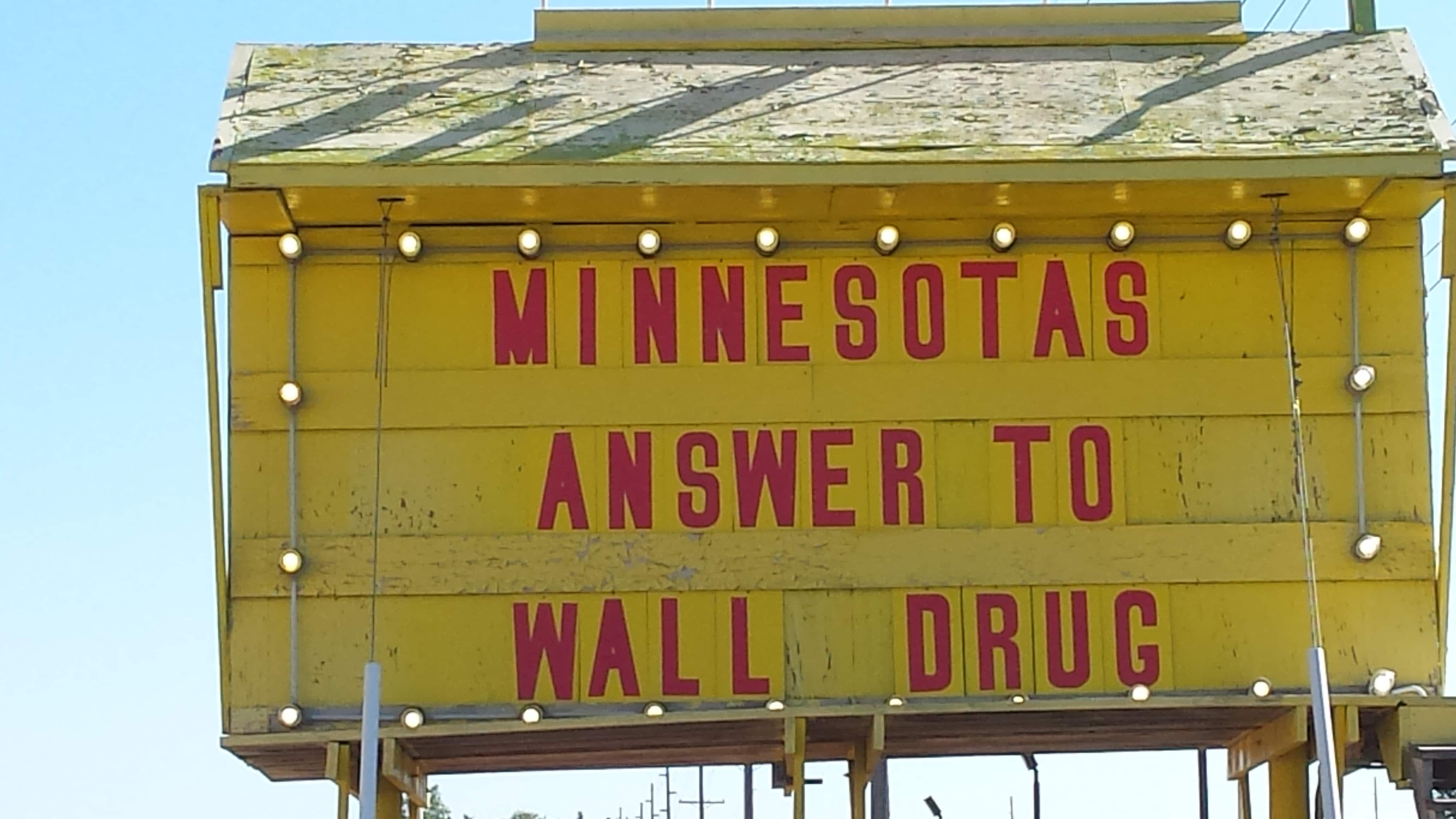 Ever Changing Billboard at Minnesota's Largest Candy Store