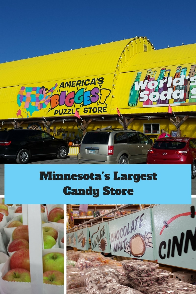 Minnesota's Largest Candy Store, Puzzle Shop, Bacon Lover Dream Store and so much more!