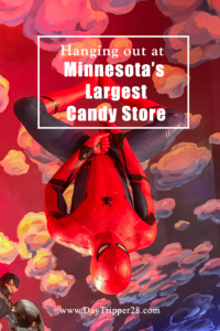 Minnesota's Largest Candy Store should be on everyones MN Bucket List. Their selection of unique candy's is just a small part of the draw Minnesota | USA | Candy | Road Trip | Road Side Stop | Art | Sky | Minnesota Adventures
