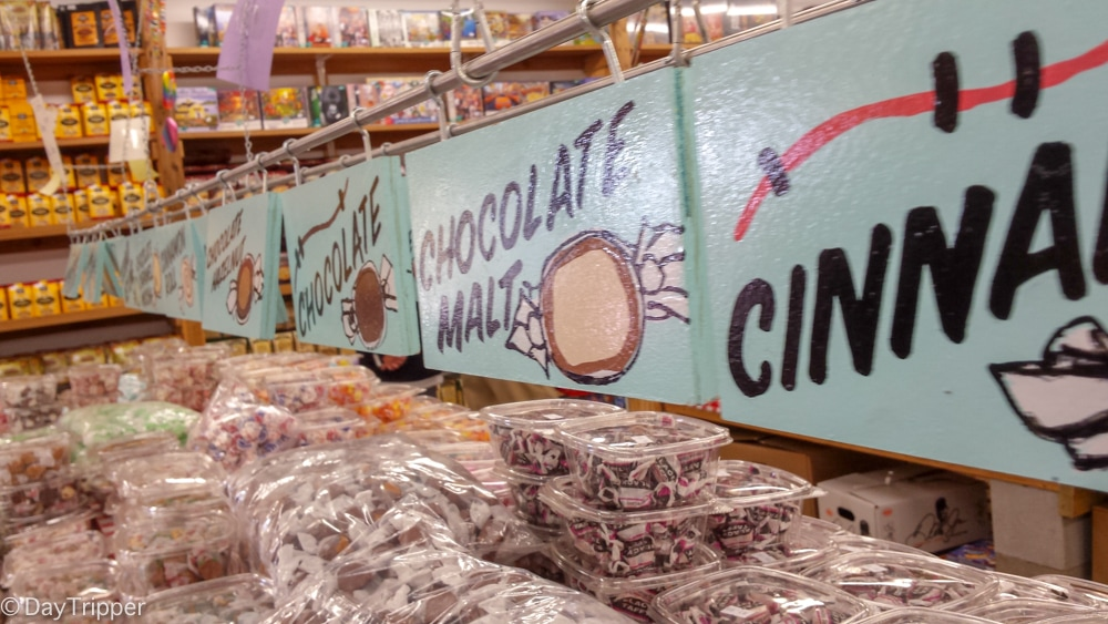 Taffy and other Nostalgic Candy form the Largest Candy Store in MN