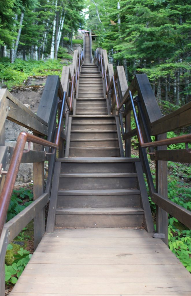 Stairs to Split Rock Light House