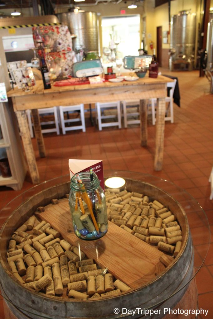 Cannon River Winery Tables