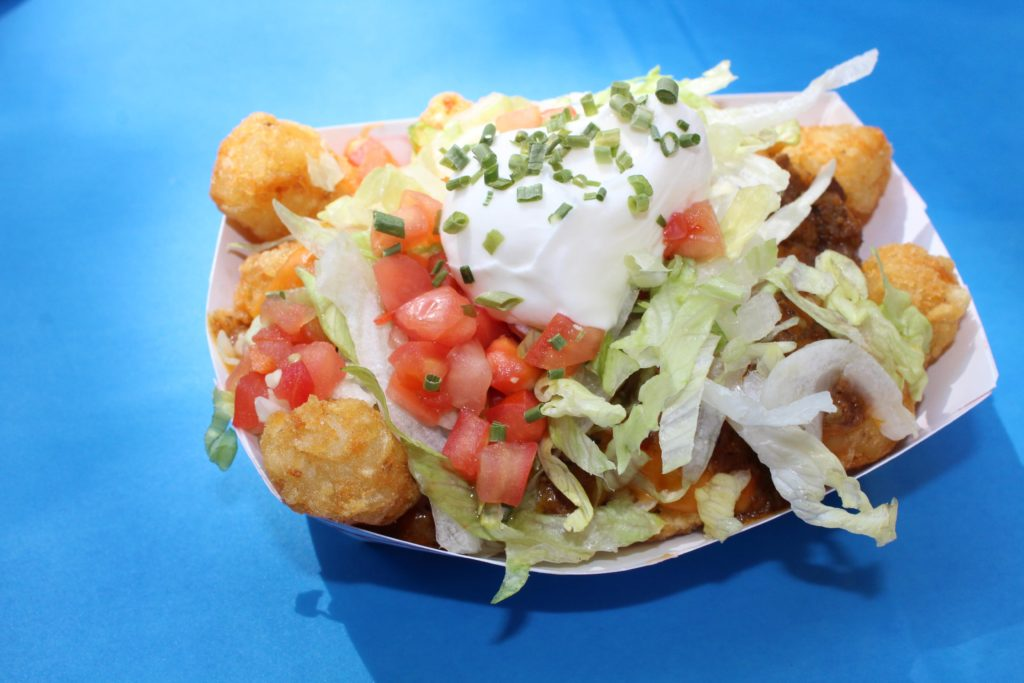 Nacho Tots from the Tot Boss