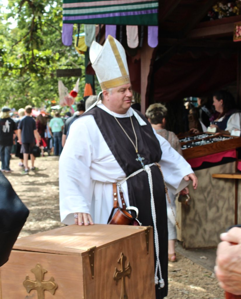 Pope and Clergy at the Minnesota Renaissance Festival