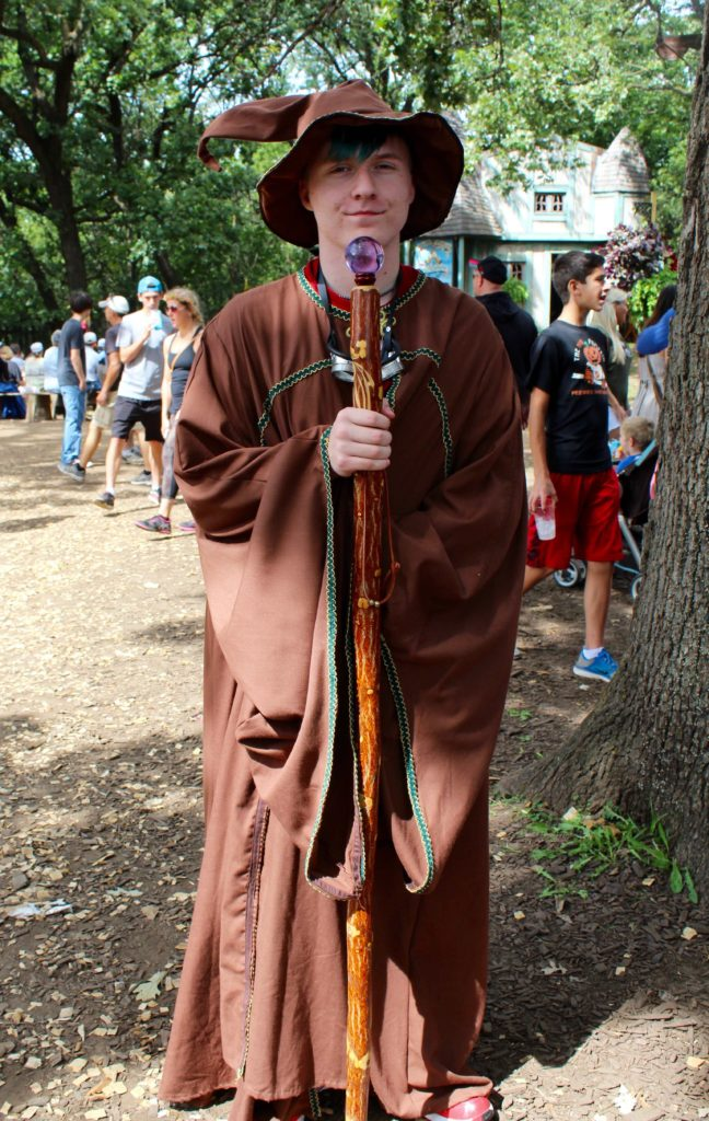 Wizard at the Minnesota Renaissance Festival