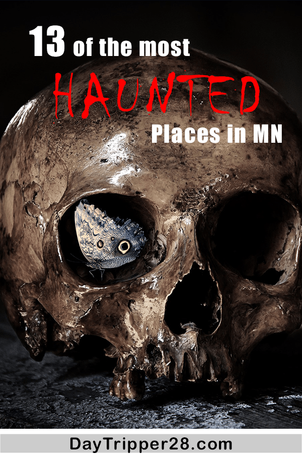 Do you want to be really terrified this halloween? Check out some of these Real Haunted Places in Minnesota. Ghosts | Minneapolis | Twin Cities | Haunted | Haunted Houses | Scary