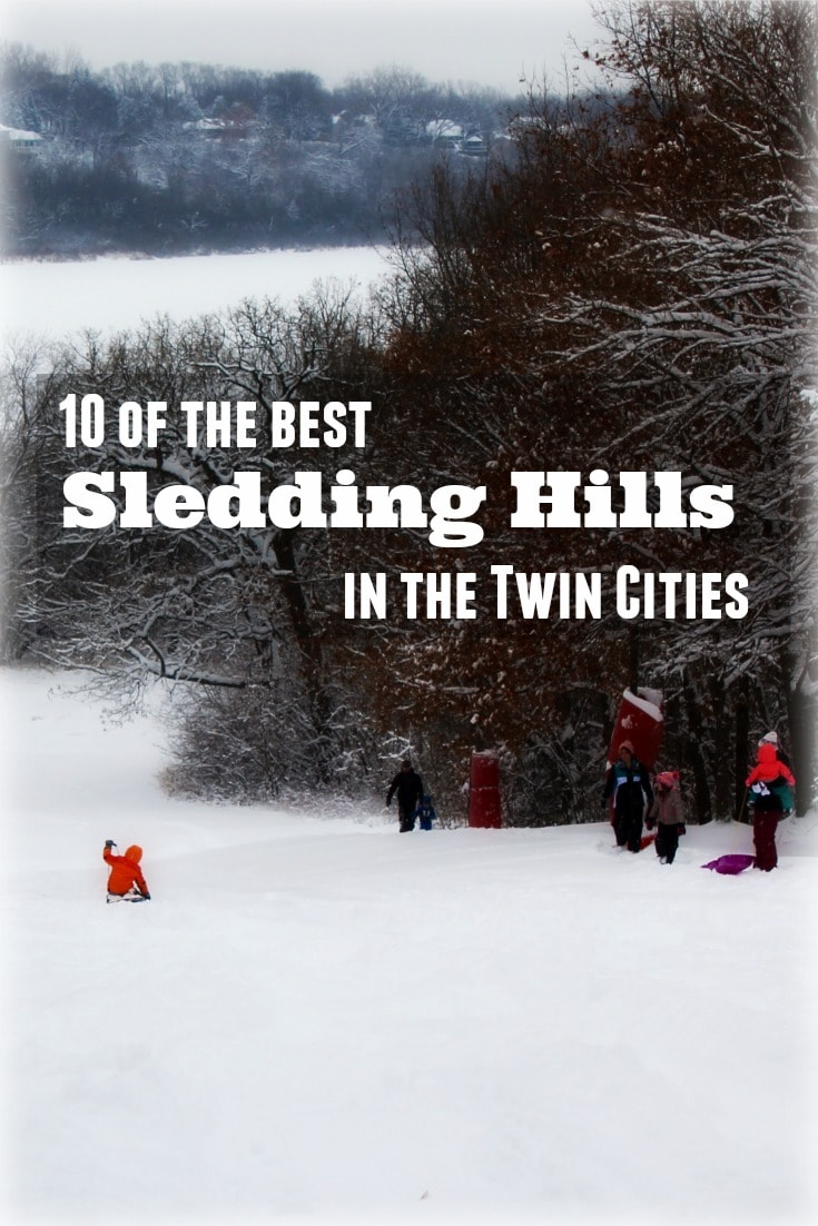 Feel like a kid again at these epic sledding hills located all over the Twin Cities