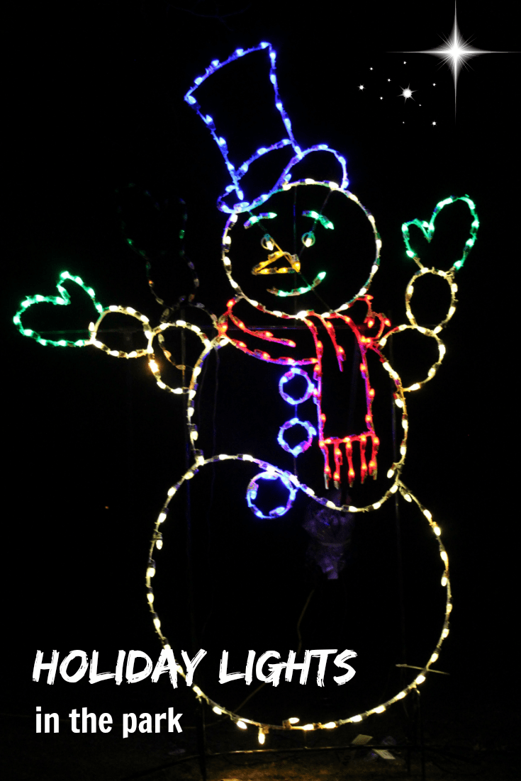 Looking for Holiday Lights in the Twin Cities. This display is a great drive that gives back to the community too. So if you want to help a family in need this Christmas, check out the Holiday of Lights in the Park in St. Paul.
