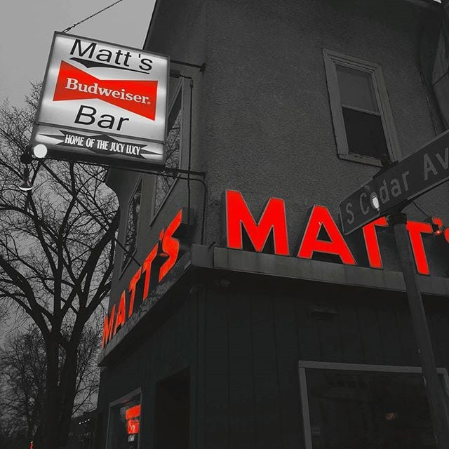 Matts Bar in Mpls Home of the Jucy Lucy