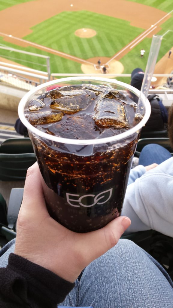 How to score a free soda at Target Field!