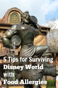 Tips for you Walt Disney World Vacation with Food Allergies