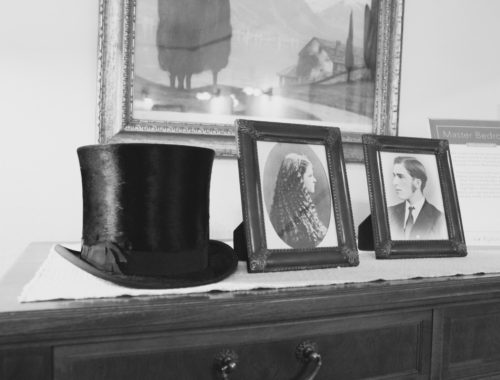 Top hat at Glensheen Mansion in Duluth