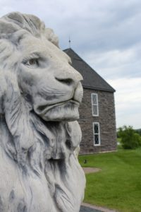 Chateau St. Croix Lions Head Enterence