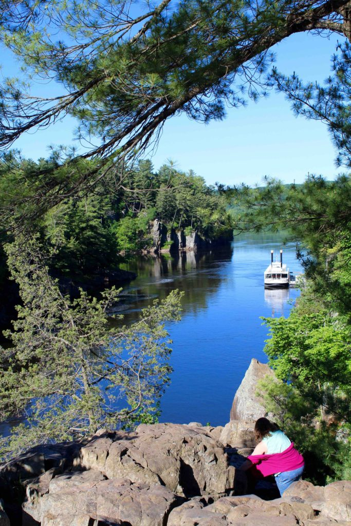 St. Croix Scenic Boat Tours in Taylors Falls Minnesota
