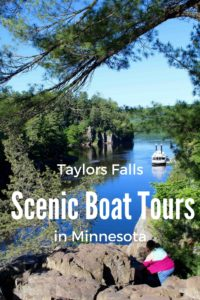 Family Fun an hour from the Twin Ciities in Taylor Falls. The Paddleboat ride is a great Day Trip.