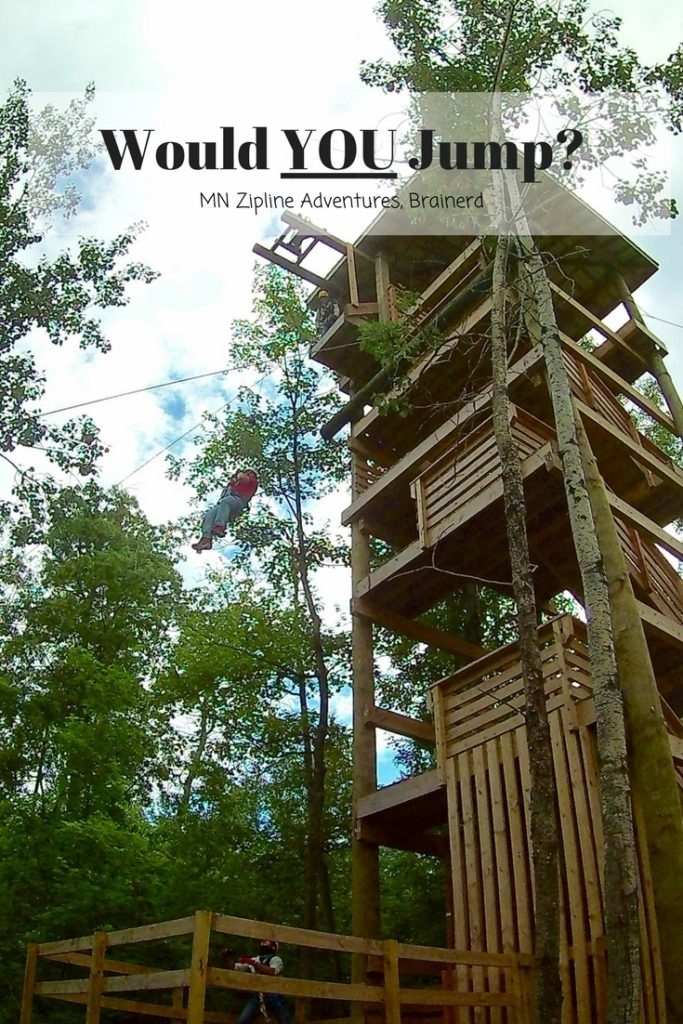 Conquer your fear of highest and go zip lining in MN. Minnesota Zipling Adventures has a location close to the Twin Cities and in Brainerd.