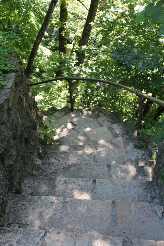 Stairs at Minneopa State Park