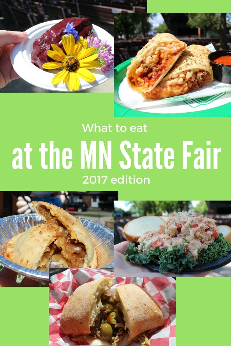 2017 New Foods at the Minnesota State Fair, what to eat and more