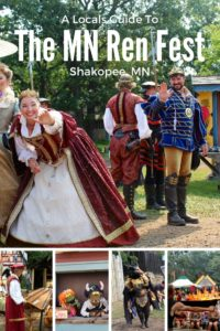 How to meet the royal court, the best entertainmetn and so mcuh more at the MN Renaissance Festival.
