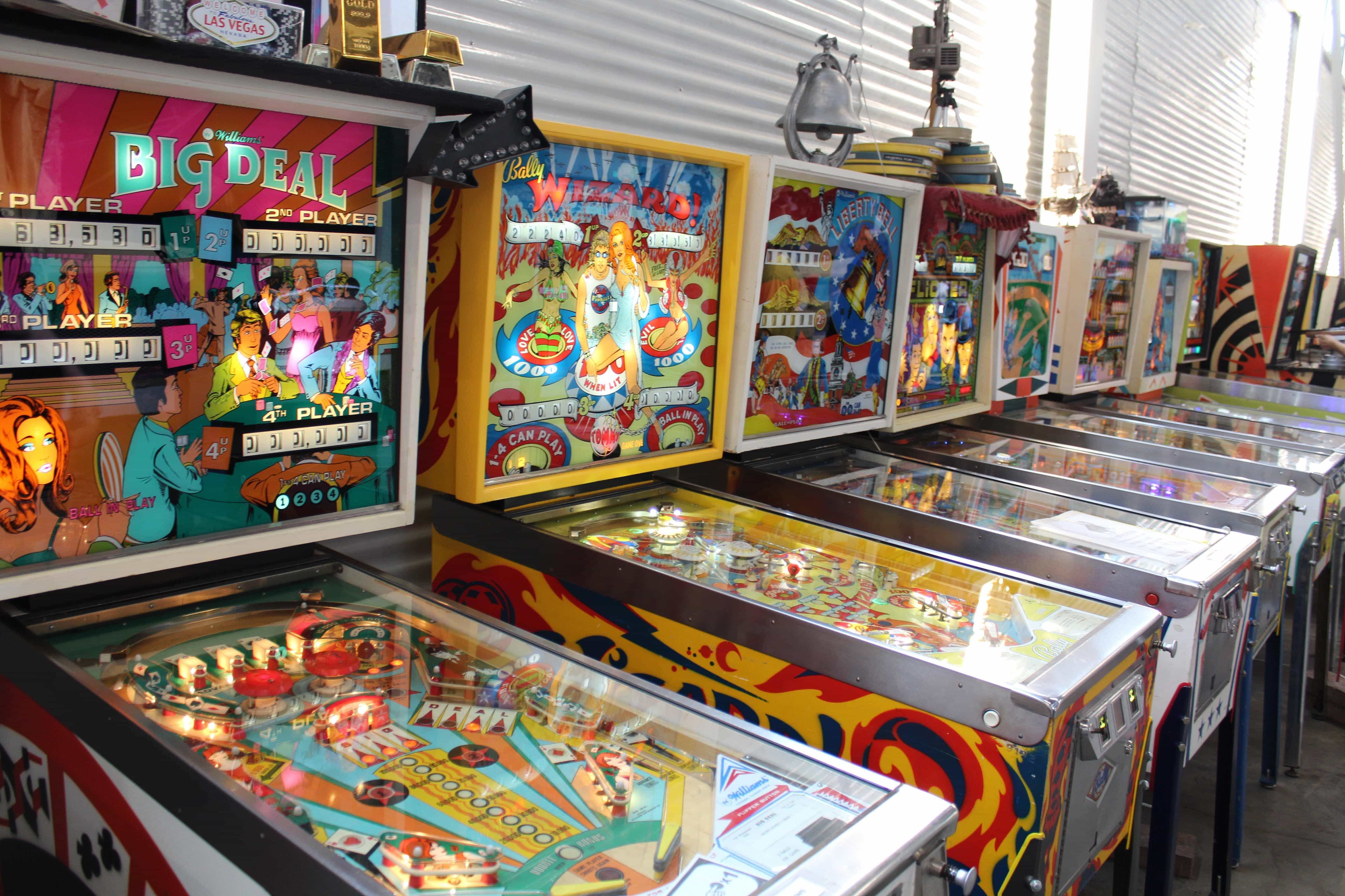 PInball Arcade at Can Can Wonderland