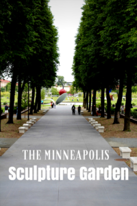 Taking a look at the Minnesota Sculpture Garden. Not to be missed in the Twin Cities, plus its free!