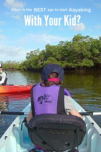 When is the best age to take a kid kayaking?