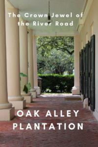 The crown jewel of the River Road, Don't miss the Oak Alley Plantation.