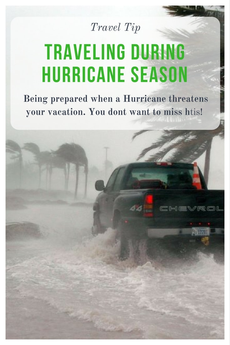Is a hurricane threatening your vacation? Here are a few tips to make sure your trip is great and you stay safe!