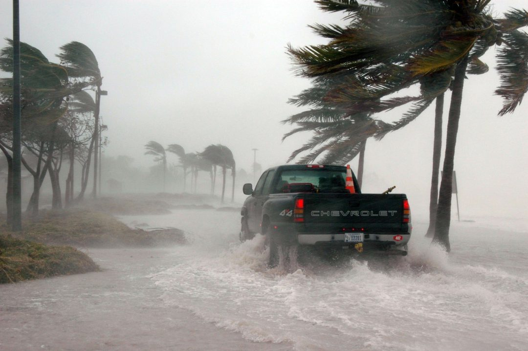 Hurricane Winds, Traveling During a Hurricane