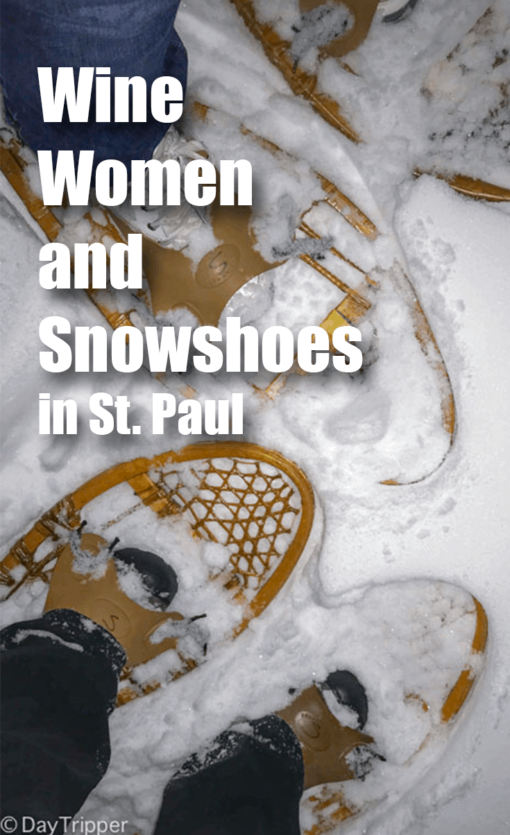 Wine Women and Snowshoeing in the woods. Who could ask for more. The Dodge Nature Center in St. Paul has some amazing actives you gotta check out. #WineLover #Outdoors Nature Center | Women | Saint Paul | Winter Activities