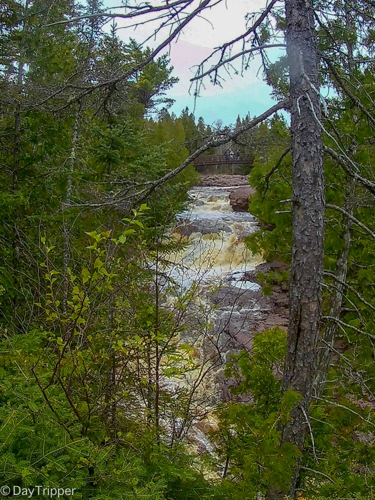 A glimps of Fith Falls | Hiking to Fifth Falls