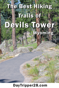 Devils Tower Wyoming has some of the best hiking trails. | Hiking | National Parks | Natural Wonders | Outdoors